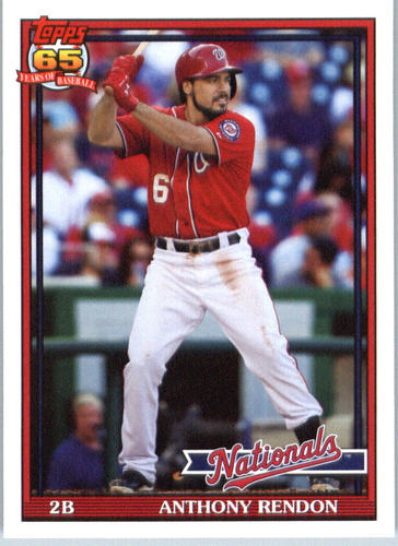 Photo of 2016 Topps Archives #290 Anthony Rendon