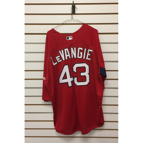 Photo of Dana Levangie Team-Issued 2017 Home Batting Practice Jersey