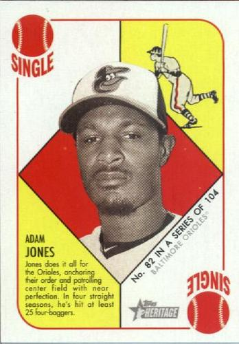 Photo of 2015 Topps Heritage '51 Collection #82 Adam Jones