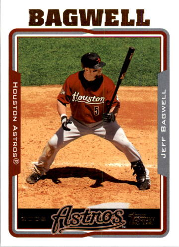 Photo of 2005 Topps #610 Jeff Bagwell