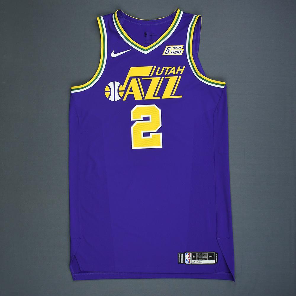 hot sale online bea1d 3a887 Joe Ingles - Utah Jazz - Game-Worn 1st Half Classic Edition ...