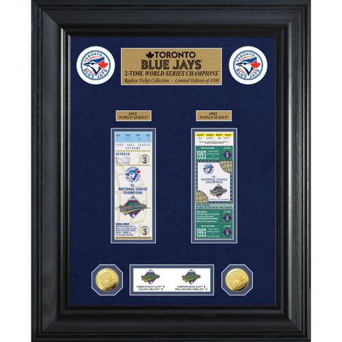Photo of Toronto Blue Jays World Series Deluxe Gold Coin & Ticket Collection