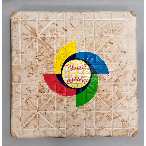 Photo of 2017 World Baseball Classic Game Used Base- 3rd Base (Colombia at United States)