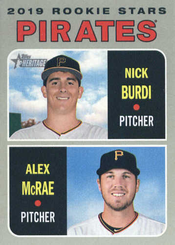 Photo of 2019 Topps Heritage #141 Nick Burdi RC/Alex McRae RC