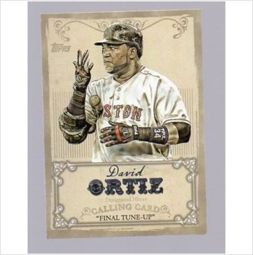 Photo of 2013 Topps Calling Cards #CC4 David Ortiz