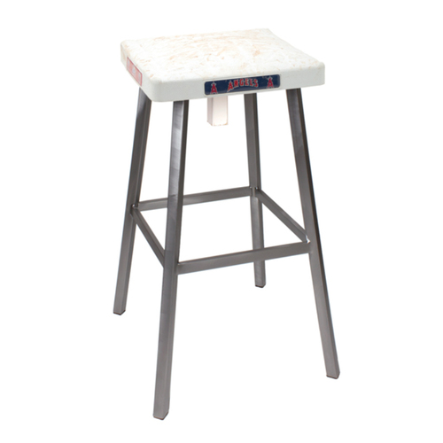 Photo of Tokens & Icons Los Angeles Angels Game Used Base Stool