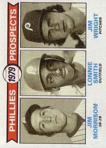 Photo of 1979 Topps #722 Jim Morrison RC/Lonnie Smith RC/Jim Wright RC