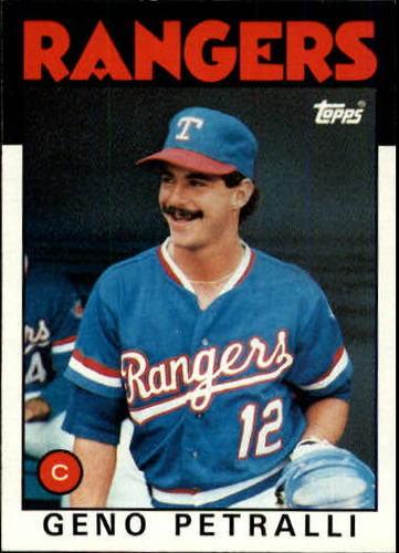 Photo of 1986 Topps #296 Geno Petralli