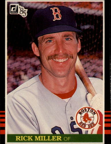 Photo of 1985 Donruss #517 Rick Miller
