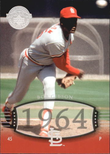 Photo of 2004 UD Legends Timeless Teams #1 Bob Gibson 64