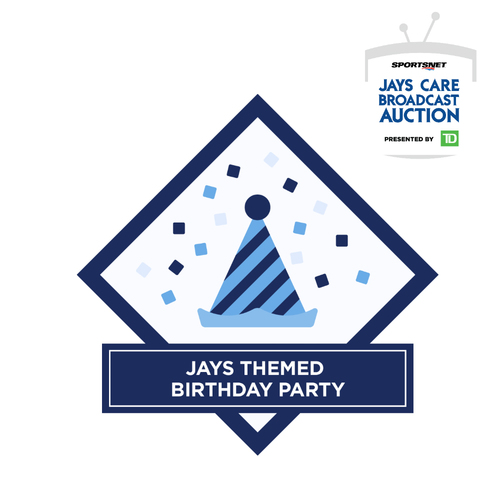 Photo of Blue Jays Birthday Party