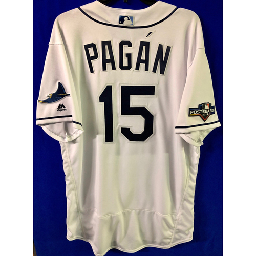 Photo of Team Issued 2019 Postseason Jersey: Emilio Pagan