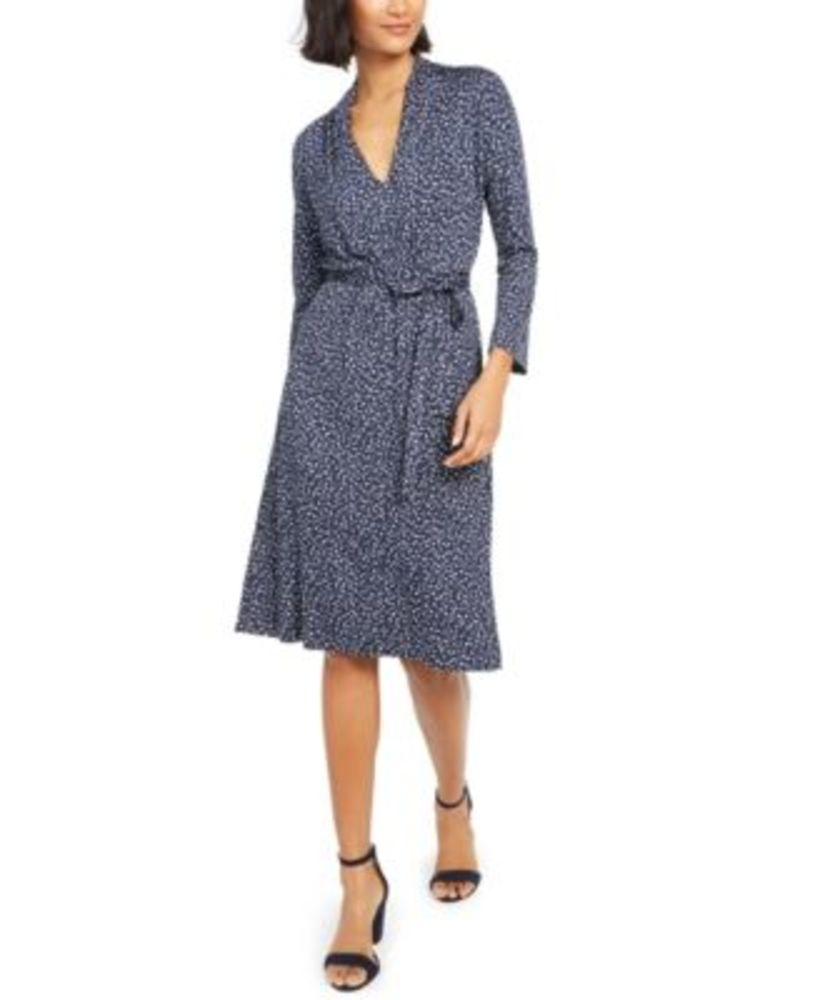 Photo of French Connection Tie-Waist Jersey Dress