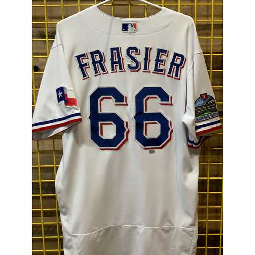 Photo of Josh Frasier Team-Issued White Jersey