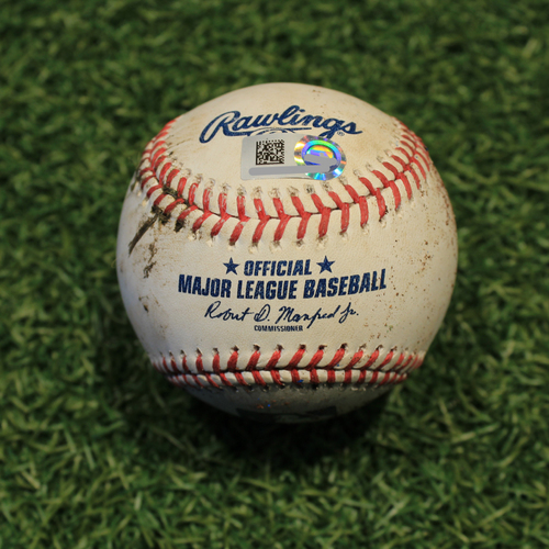Game-Used Baseball: Gregory Polanco 619th Career Hit (PIT @ KC 9/12/20)