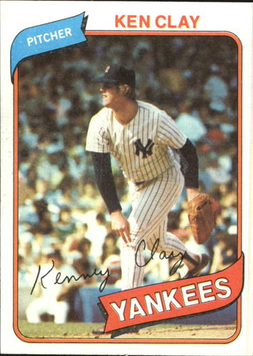 Photo of 1980 Topps #159 Ken Clay