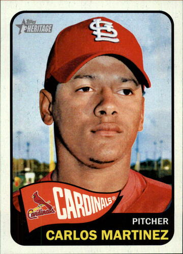Photo of 2014 Topps Heritage #174 Carlos Martinez