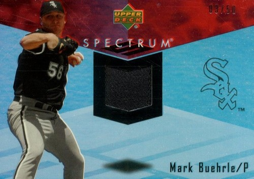 Photo of 2007 Upper Deck Spectrum Swatches Patches #MB Mark Buehrle