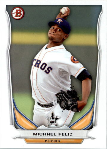 Photo of 2014 Bowman Draft Top Prospects #TP76 Michael Feliz