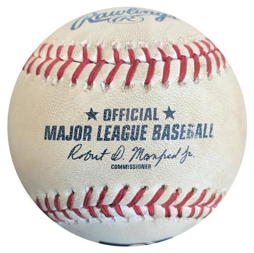 Photo of Game-Used Baseball from Pirates vs. Phillies on 6/13/15 - Ben Revere Double