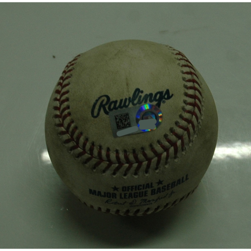 Photo of Game Used Baseball: 8-3-2018 vs. Angels - Shohei Ohtani (4 hits, 2 HR's), 1st Multihomer Game in the Majors