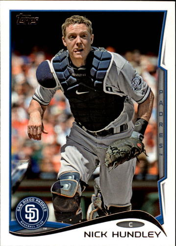 Photo of 2014 Topps #37 Nick Hundley