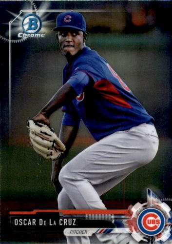 Photo of 2017 Bowman Chrome Prospects #BCP72 Oscar De La Cruz