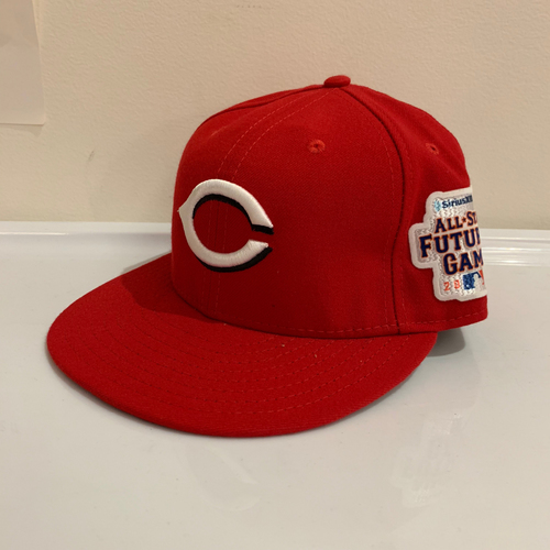 Photo of 2013 All Star Futures Game -  Game Used Cap  - Carlos Contereas (Cincinnati Reds) Size - 7 -1/4