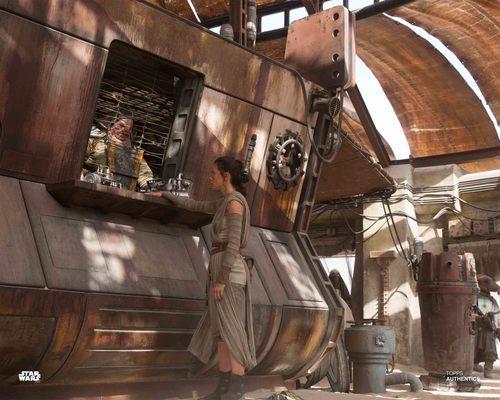Rey and Unkar Plutt