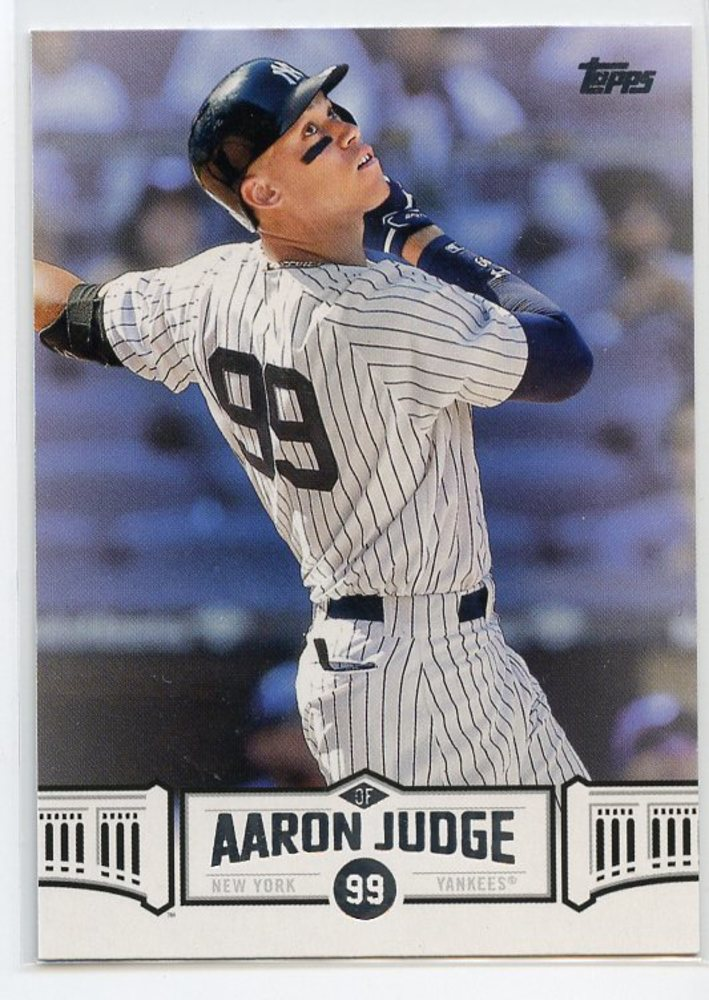 2018 Topps Aaron Judge Highlights #AJ13 Aaron Judge