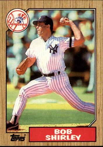 Photo of 1987 Topps #524 Bob Shirley