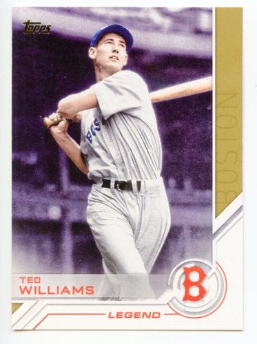 Photo of 2017 Topps Salute #S19 Ted Williams