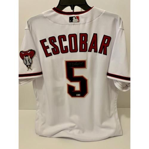 Photo of Eduardo Escobar Autographed Jersey
