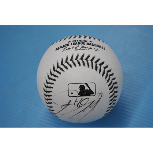 Photo of 2020 MLB Black Lives Matter Commemorative Ball - Autographed by Starling Marte