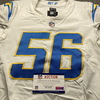 Crucial Catch - Chargers Kenneth Murray Game Used Jersey (10/12/20) Size 42