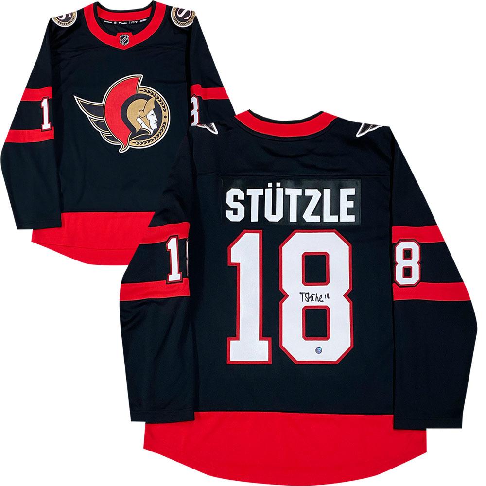 Tim Stutzle Autographed Ottawa Senators Fanatics Jersey