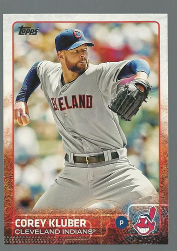 Photo of 2015 Topps #122 Corey Kluber