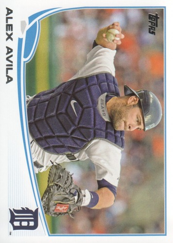 Photo of 2013 Topps #343 Alex Avila