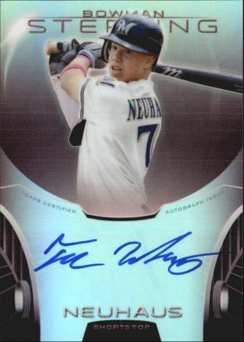Photo of 2013 Bowman Sterling Prospect Autographs Ruby Refractors #TN Tucker Neuhaus