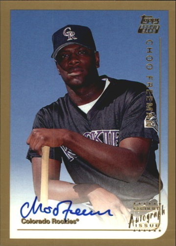 Photo of 1999 Topps Traded Autographs #T53 Choo Freeman