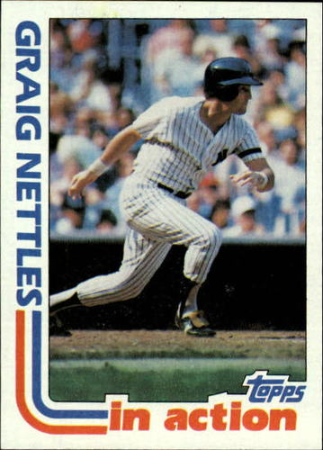 Photo of 1982 Topps #506 Graig Nettles IA