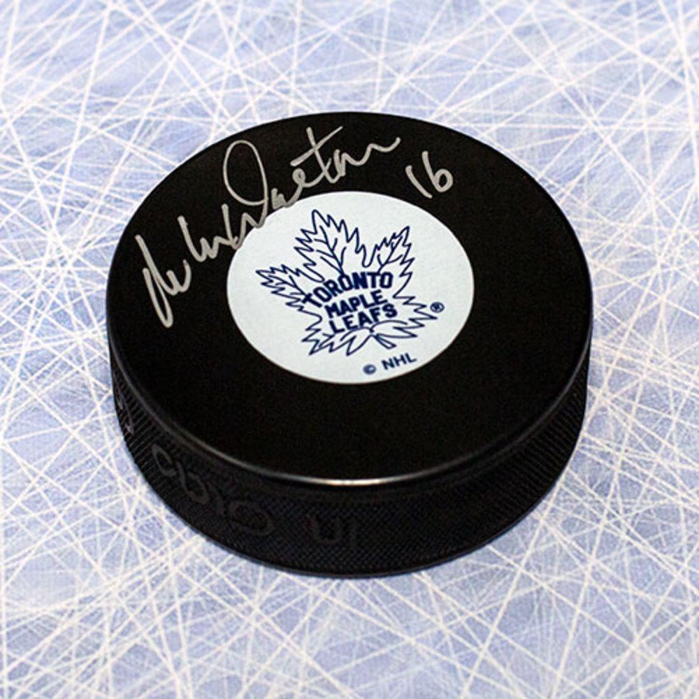 Mike Walton Toronto Maple Leafs Autographed Hockey Puck