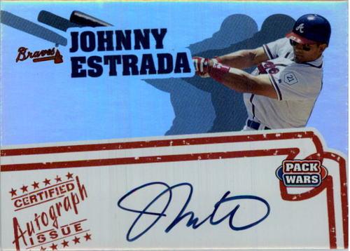 Photo of 2005 Topps Pack Wars Autographs #JE Johnny Estrada D