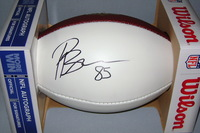 NFL - RAIDERS PHARAOH BROWN SIGNED PANEL BALL