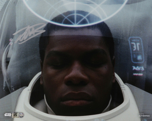 John Boyega as Finn 8x10 Autographed in Silver Ink Photo