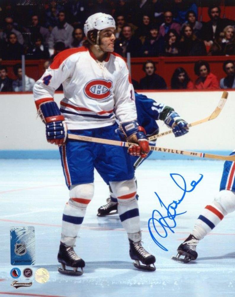 Rejean Houle Signed 8x10 Unframed Canadiens