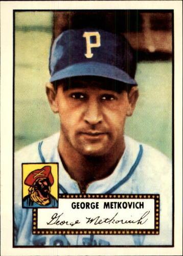 Photo of 1983 Topps 1952 Reprint #310 George Metkovich