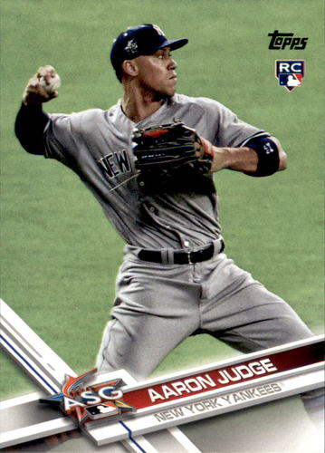Photo of 2017 Topps Update #US166A Aaron Judge Rookie Card