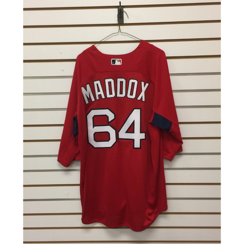 Photo of Austin Maddox Team-Issued 2017 Home Batting Practice Jersey