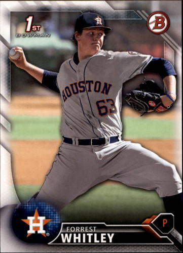 Photo of 2016 Bowman Draft #BD55 Forrest Whitley -- Ranked #9 of MLB's Top 100 Prospects